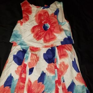 Janie and Jack floral dress size 4